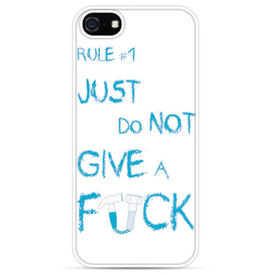 Чехол для iPhone JUST DO NOT GIVE A FUCK