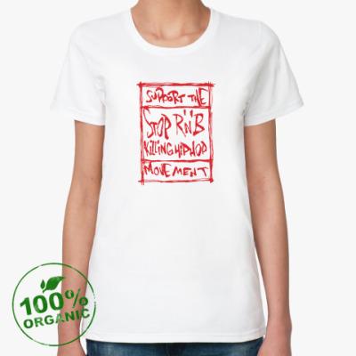 Женская футболка из органик-хлопка R'n'B
