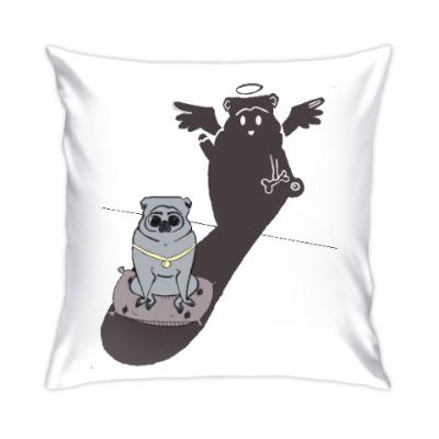 Подушка Мопс