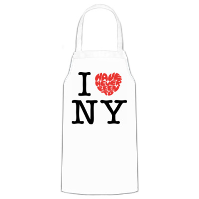 Фартук  I Have Never Been to NY