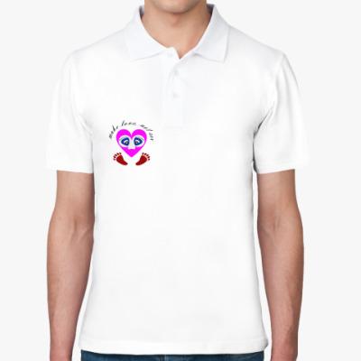 Рубашка поло Make love