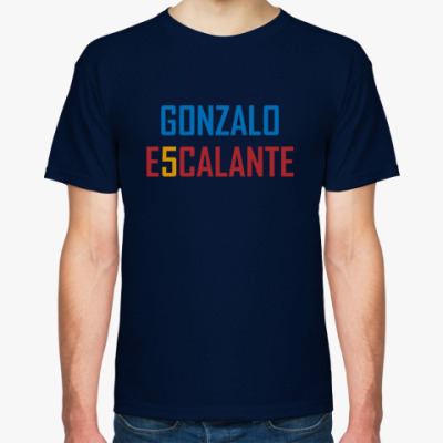 Футболка Gonzalo Escalante / Гонсало Эскаланте (синяя)