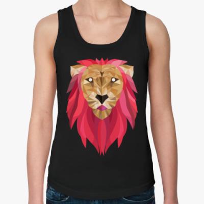 Женская майка Лев / Lion