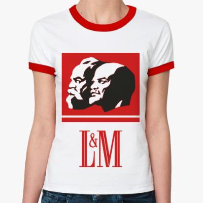 Женская футболка Ringer-T L&M [NEW]