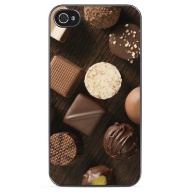 Чехол для iPhone Шоколадные конфеты