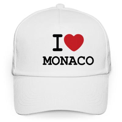 Кепка бейсболка I Love Monaco