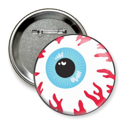 Значок 75мм Глаз