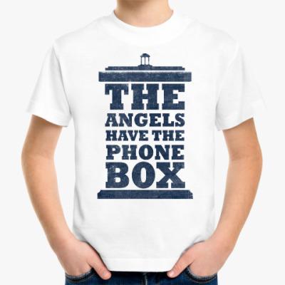 Детская футболка The Angels Have The Phone Box