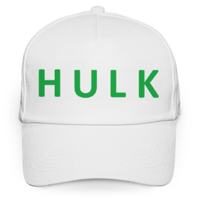 Кепка бейсболка HULK