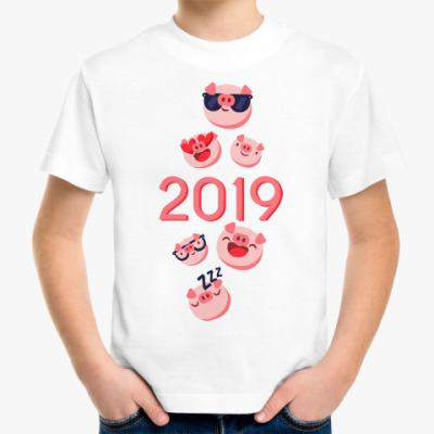 Детская футболка Символ 2019 года