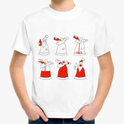 Детская футболка Самый настоящий дед мороз