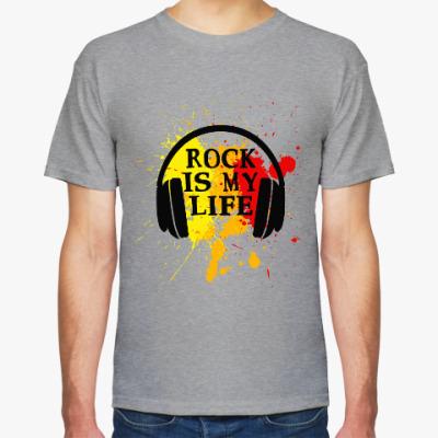 Футболка Rock is my life