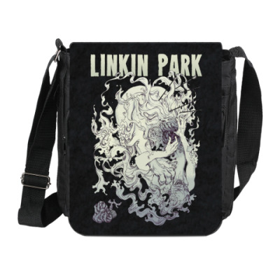 Сумка на плечо (мини-планшет) Linkin Park