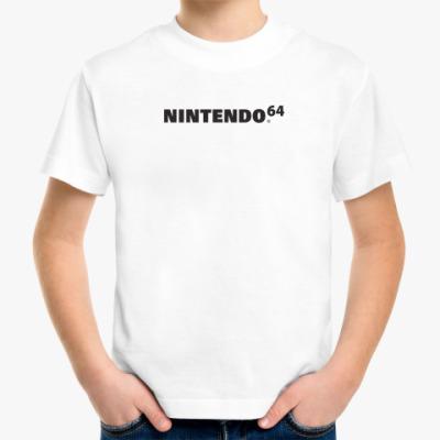 Детская футболка Nintendo 64