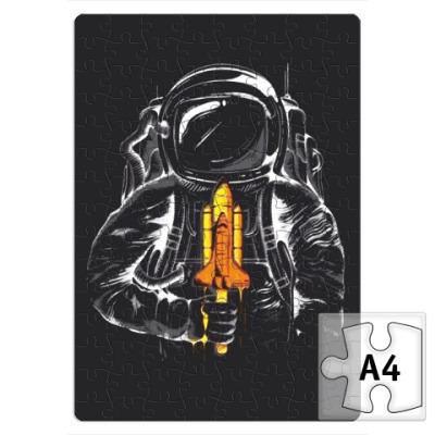 Пазл Космонавт с леденцом
