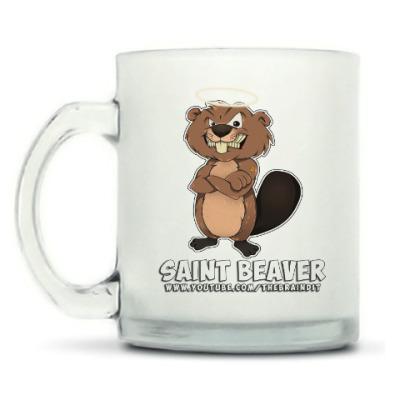 """Кружка матовая Кружка матовая """"St. Beaver"""""""