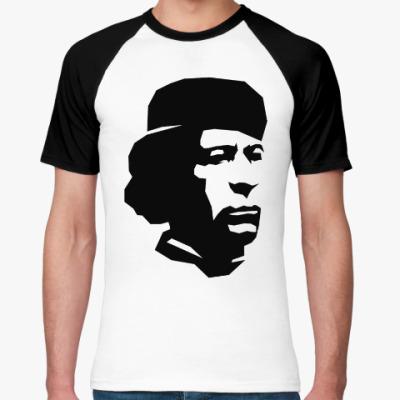 Футболка реглан Муммарак Каддафи