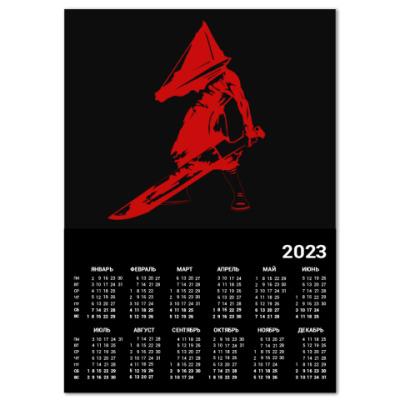 Календарь Silent Hill Pyramid Head