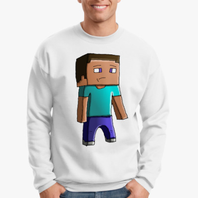 Свитшот Minecraft Steve