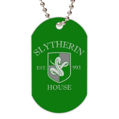 Жетон dog-tag Slytherin