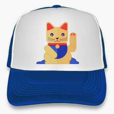 Кепка-тракер Lucky Cat