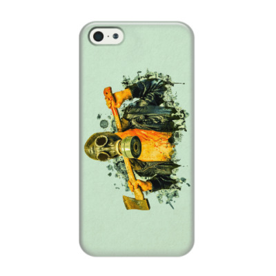 Чехол для iPhone 5/5s Zombie Killer