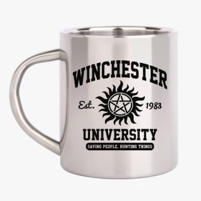 Кружка металлическая Winchester University