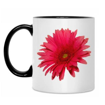Кружка Цветок