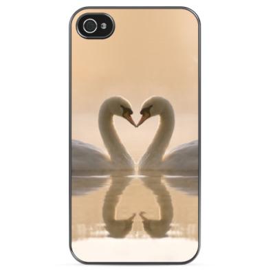 Чехол для iPhone Лебеди