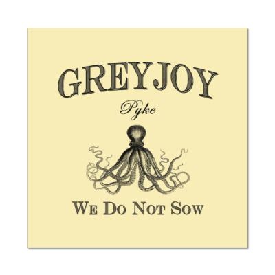 Наклейка (стикер) Greyjoy