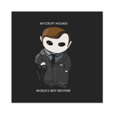 Наклейка (стикер) Sherlock Mycroft Holmes