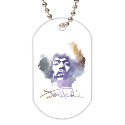 Жетон dog-tag  Jimi Hendrix - Джими Хендрикс