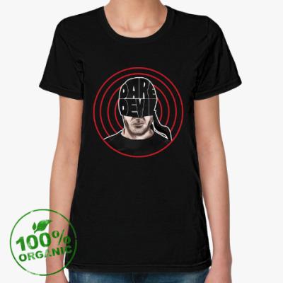 Женская футболка из органик-хлопка Daredevil / Сорвиголова