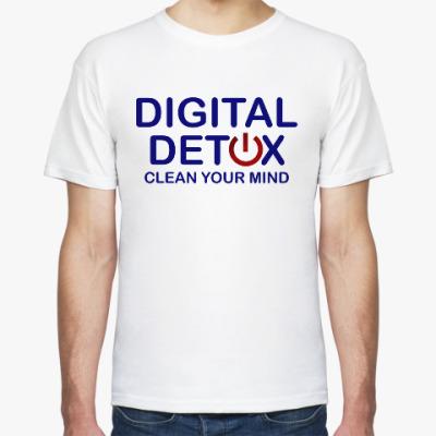 Футболка Digital detox (цифровая детоксикация)