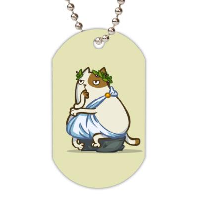 Жетон dog-tag Пятничный Котик №12