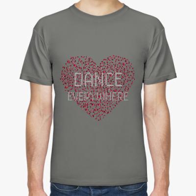 Футболка DANCE EVERYWHERE