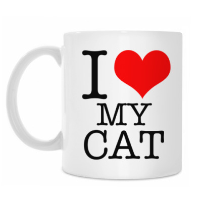 Кружка I Love My Cat