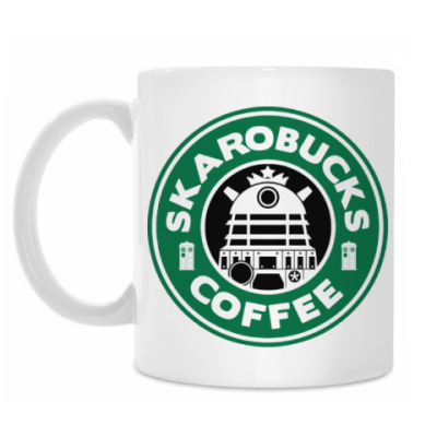 Кружка Skaro Coffee DOCTOR WHO Dalek
