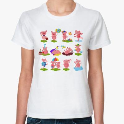 Классическая футболка Символ года