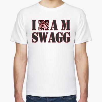 Футболка I AM SWAGG