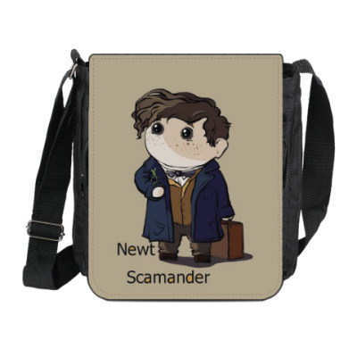 Сумка на плечо (мини-планшет) Newt Scamander