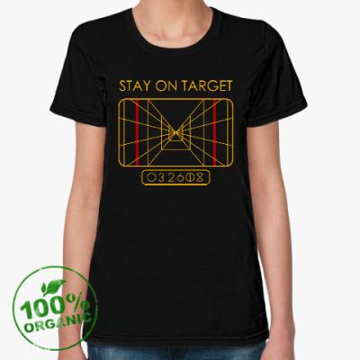 Женская футболка из органик-хлопка Звёздные войны