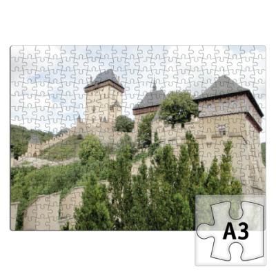 Пазл Замок  Карлштейн, Чехия