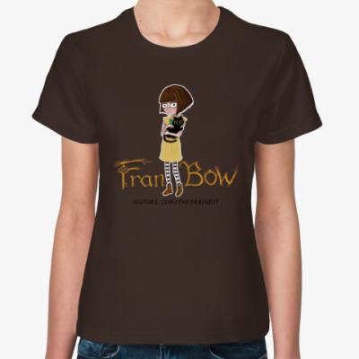 """Женская футболка Женская футболка """"Fran Bow"""""""