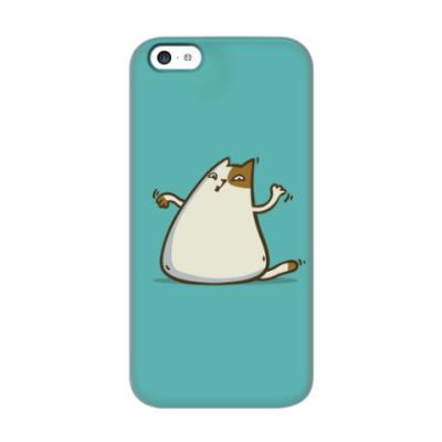 Чехол для iPhone 5c  Пятничный Котик №20