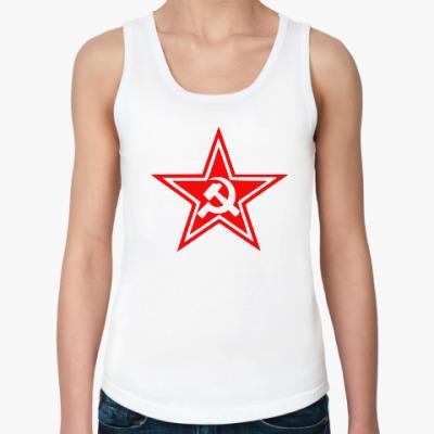 Женская майка Звезда СССР