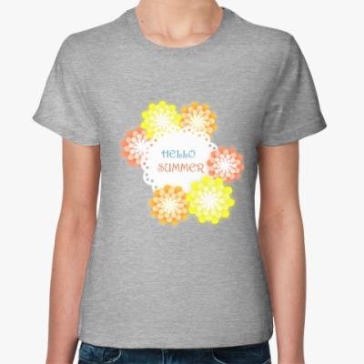 Женская футболка Здравствуй лето