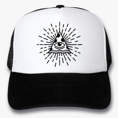 Кепка-тракер Pizza Illuminati