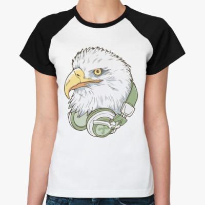 Женская футболка реглан Иглфонс