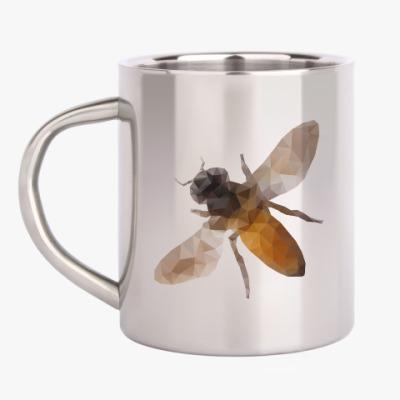 Кружка металлическая Пчела / Bee